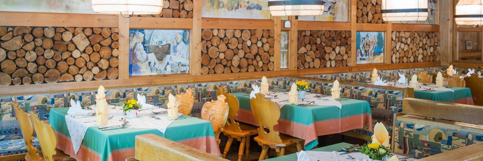 Restaurant für Halbpensionen
