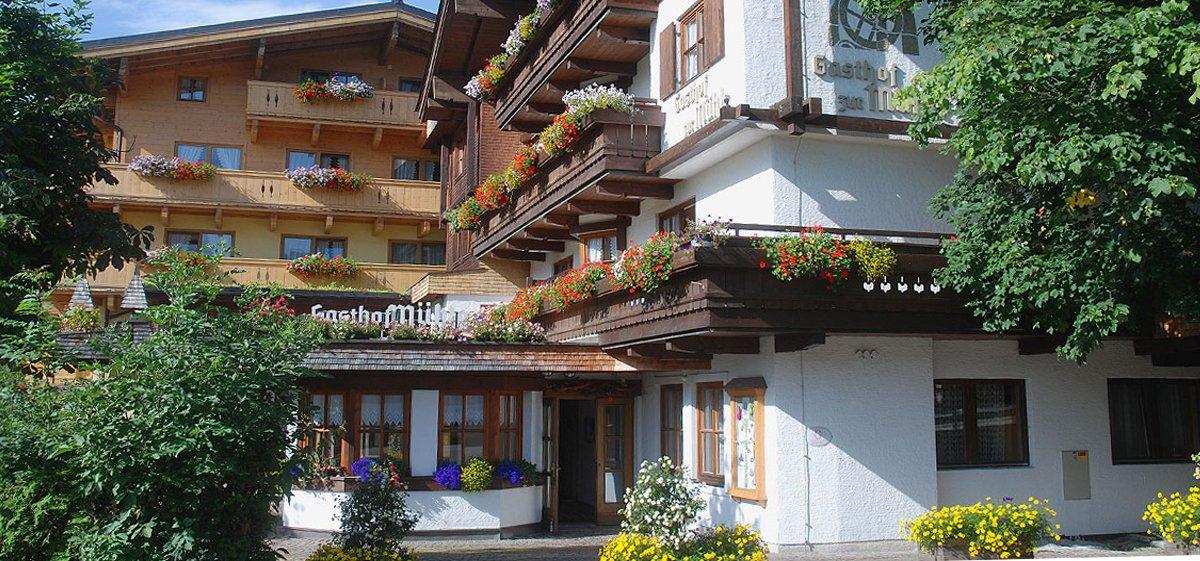 Hotel Mühle Vorderansicht